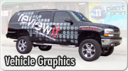 Vehicle graphics and car wraps