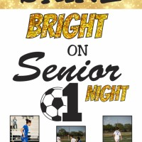 Senior Night Banners